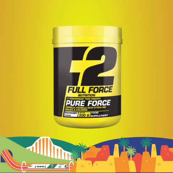 PURE FORCE 300 G RASPBERRY FLOVER 30 SERVING