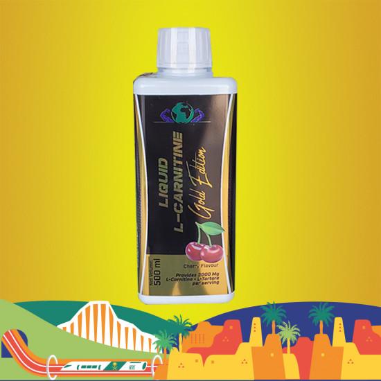 L-CARNITINE 4250 GOLD EDITION CHEERY FLOVER 500 ML