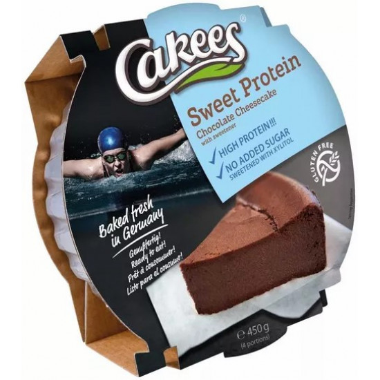 HIGH PROTEIN CHEESECAKE CHOCOLATE CAKEES