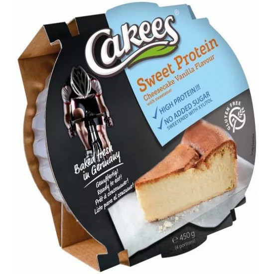 HIGH PROTEIN CHEESECAKE Lemon Flavor CAKEES