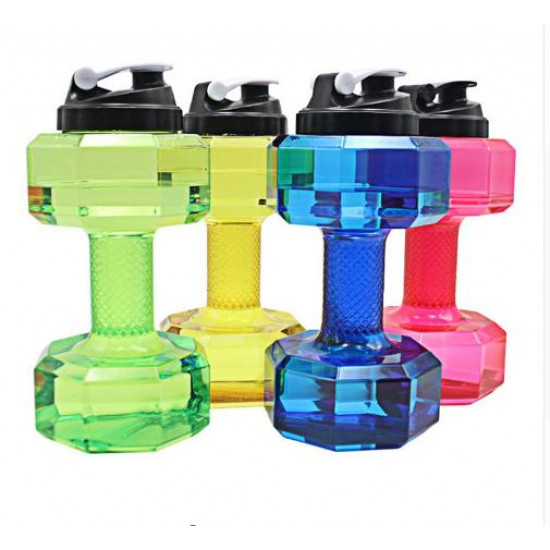 Dumbbell-shaped water gallon 2.2 liters
